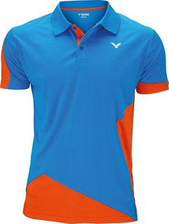VICTOR Polo Function Unisex orange blue 6128 *