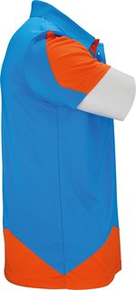 VICTOR Polo Function Unisex orange blue 6128 * XXXL