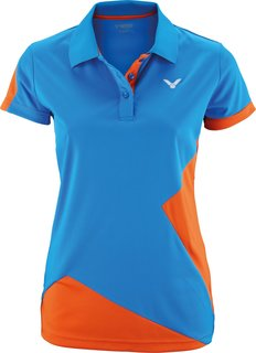 VICTOR Polo Function Female orange blue 6118 *