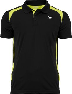 VICTOR Polo Function Unisex black 6959 164