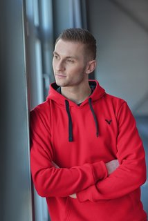 VICTOR Sweater Team red 5079 L